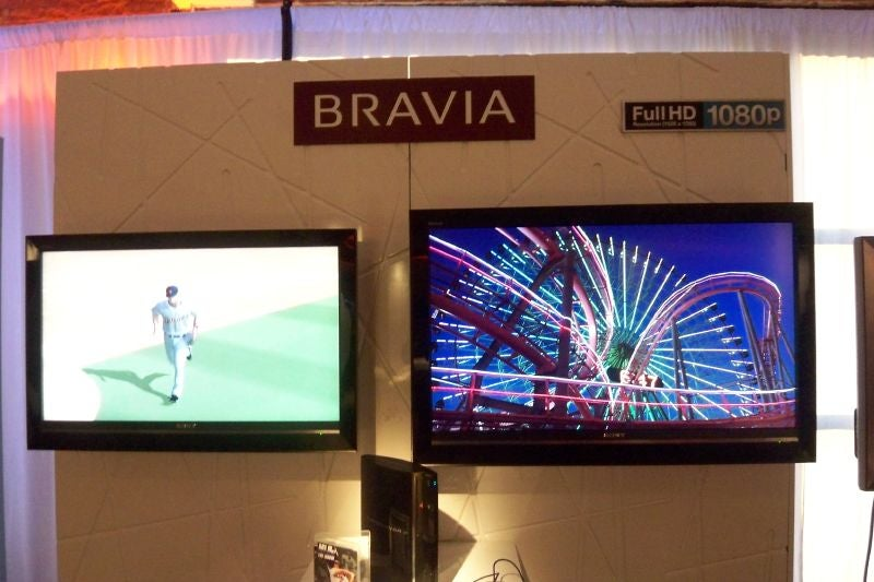 Sony Punches Up its Bravia Line with Slimmer Microdisplays and New LCDs
