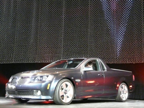2010 Pontiac G8 El Camino, Revealed Live!