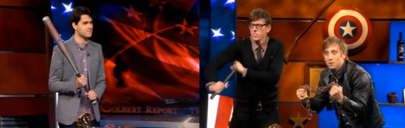 The Black Keys and Vampire Weekend Battle For the Title of Biggest Sellouts on the Colbert Report