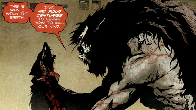 In the comic I, Vampire, blood-suckers scared of Superman start a revolution