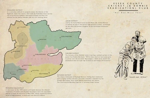 Maps of Zombie Outbreaks Throughout History