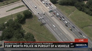 The Slowest Police Chase In The World Is Happening Right Now