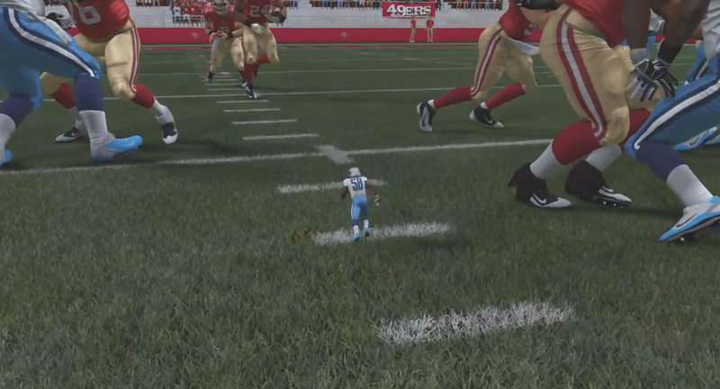 Madden Tiny Linebacker Glitch