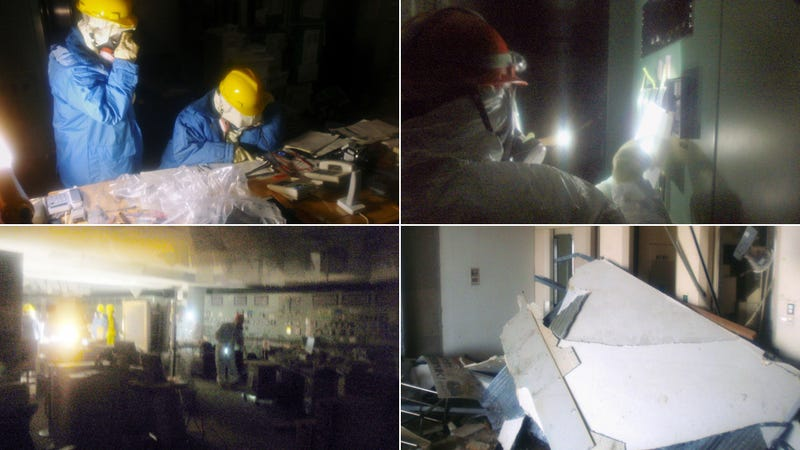 The First Photos from Inside the Fukushima Nuclear Plant