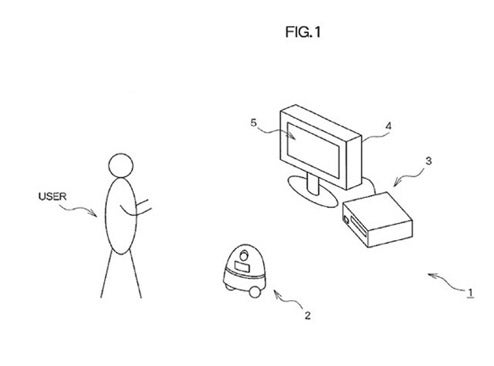 Sony Computer Entertainment Patents Robot Peripheral