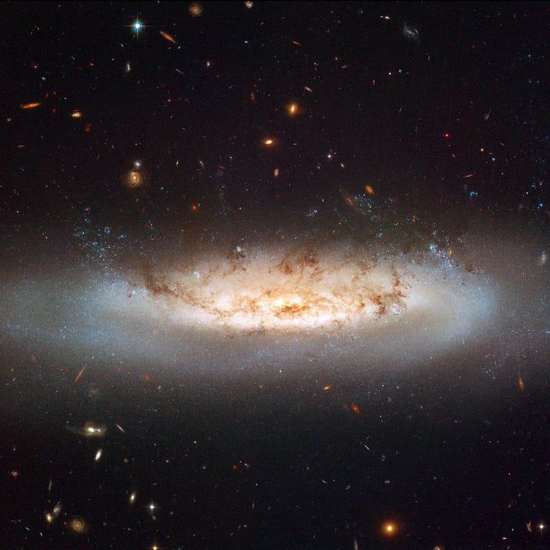 NGC4522 Is Where God's God Lives