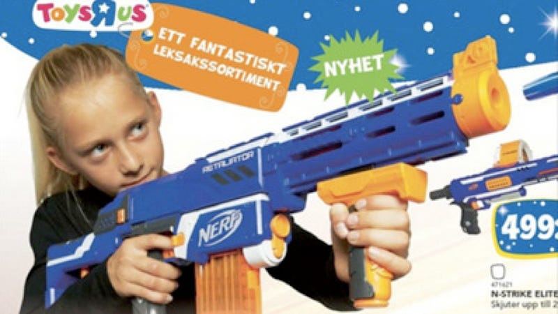 Swedish Toy Catalogue Delightfully Reverses Genders in Toy Ads