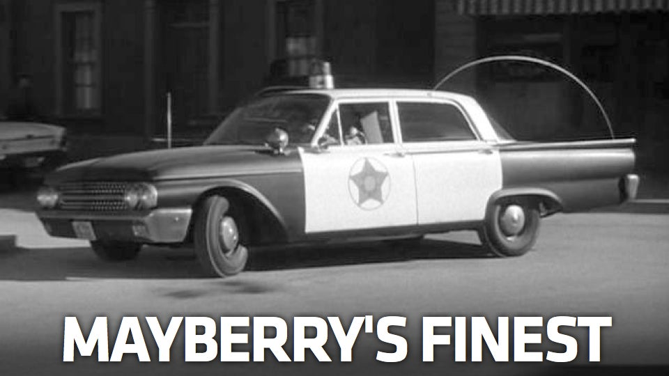 Remembering Andy Griffith And His Ford Galaxie 500