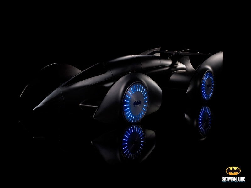 Batman's new Batmobile will keep fighting crime, long after fuel emission standards go up