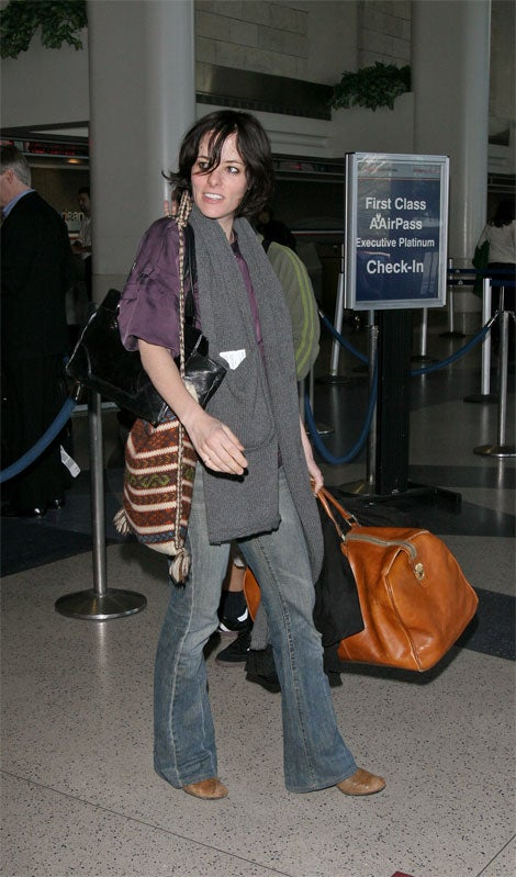 Parker Posey And Her Trio Of Totes