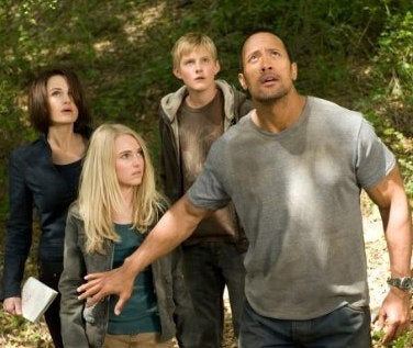 The Rock Struggles To Placate Disney's Family-Friendly Aliens