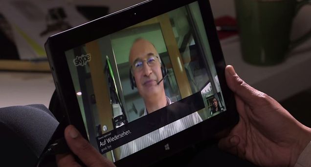 Skype Translator Learns Language from Social Media