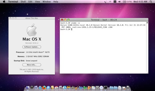 OS X 10.6.2 Does Not Ditch Atom Support, Hackintosh Safe