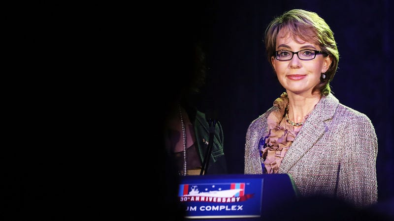Gabrielle Giffords Enjoys a Moment in the Spotlight