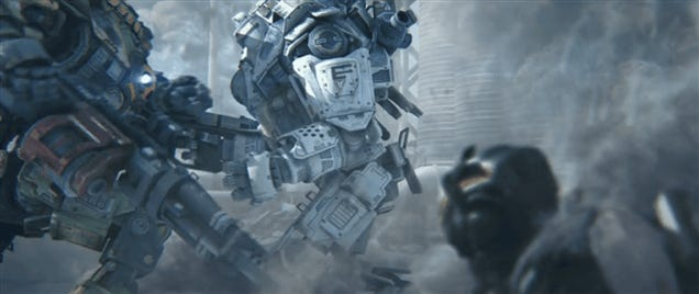 Titan Gets Its Face Punched Off In Titanfall Series