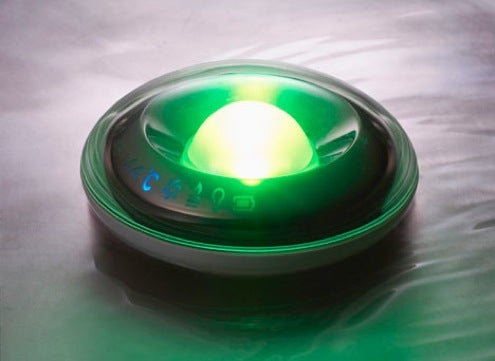 LED Bath Temperature Floaty 10x More Useful and Beautiful Than Rubber Ducky