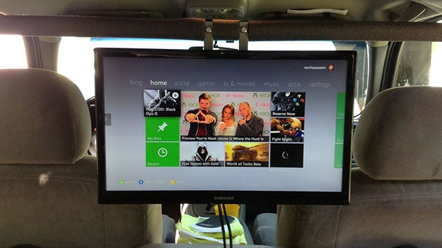 Install a Game Console in Your Car for Backseat Entertainment