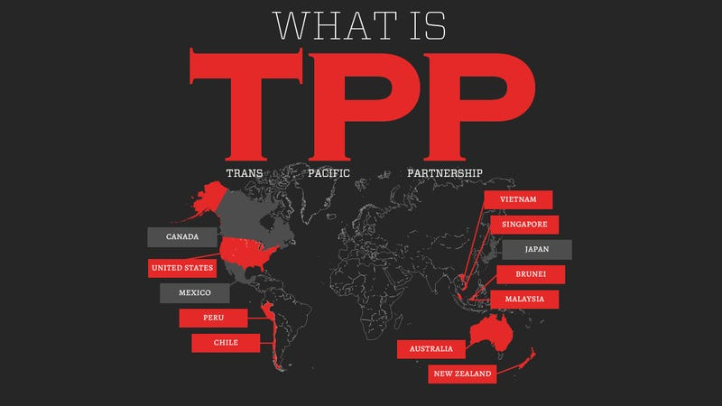 TPP: The Biggest Global Threat to the Internet Since ACTA