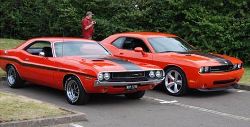 British Mopar Enthusiast Earns Fame Three Seconds At A Time With Vintage Challenger