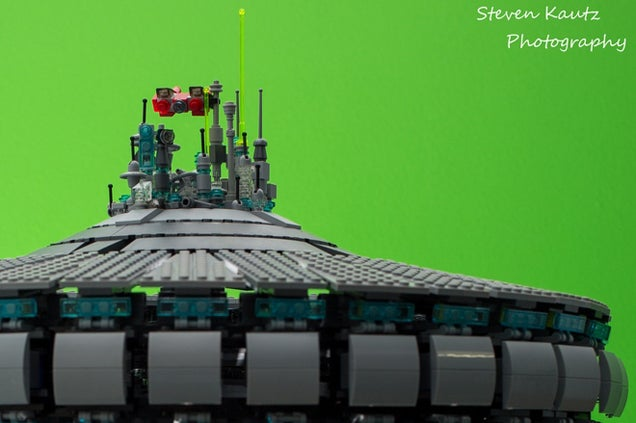 Cloud City From Star Wars as a Giant LEGO Build