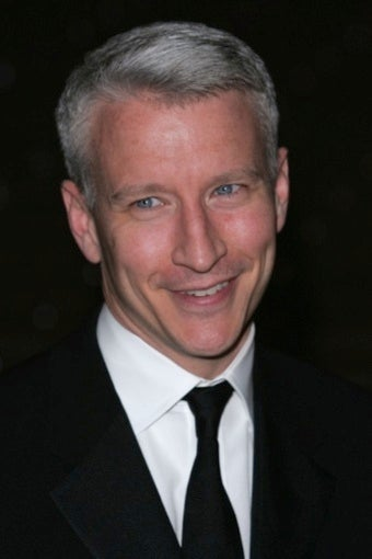 Spotted: Anderson Cooper Shaking His Groove Thing