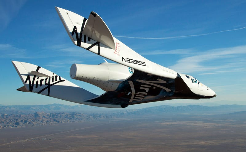 Video of the Enterprise's First Manned Glide Flight