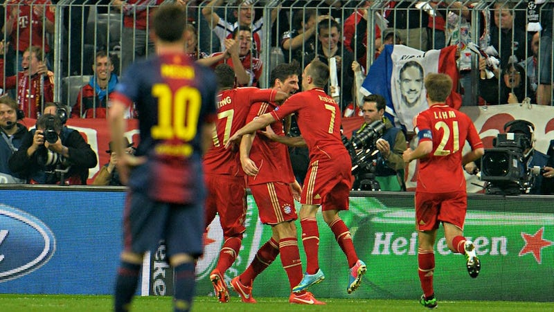 Bayern Demolish Barcelona In A Changing Of The Guard