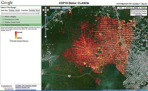 Google Earth To Tackle Deforestation