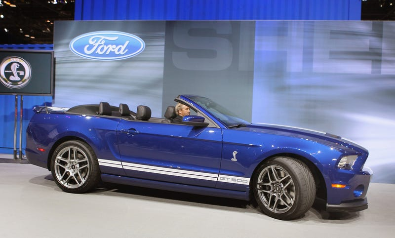 Kwame Kilpatrick's Friend Defaulted On $1,062/mo. Mustang Shelby Loan