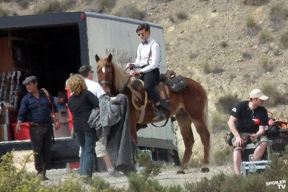 Doctor Who Set Photos (3/8)