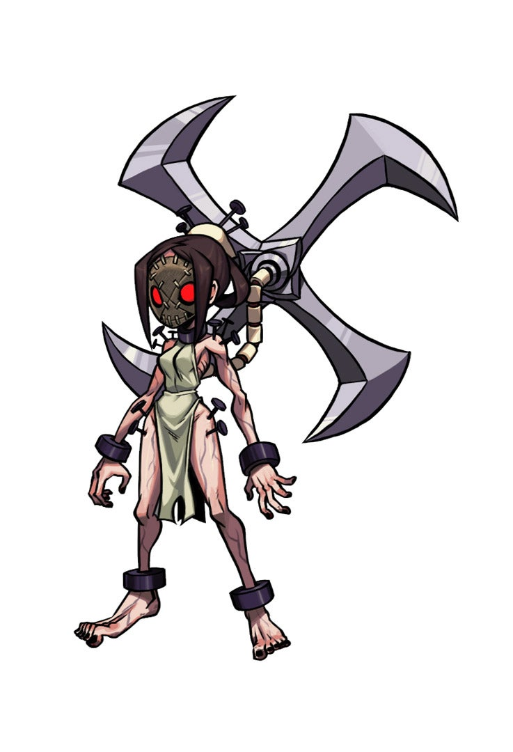 Painwheel, Painwheel, Spinning Around, Skullgirls' Latest Fighter is a Spinning Tortured Soul