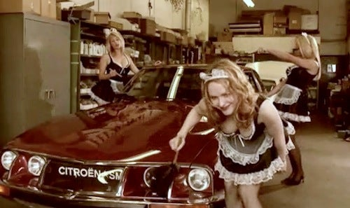 How To Change Your Oil (the French Maid TV Way)