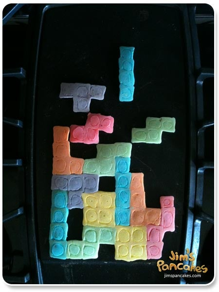 Tetris Blocks — They're for Breakfast Now!
