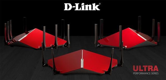 Los nuevos routers D-Link parecen artefactos de origen extraterrestre