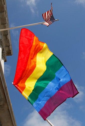 "Anti-Gay Activists ""Reclaim"" Rainbow Flag"