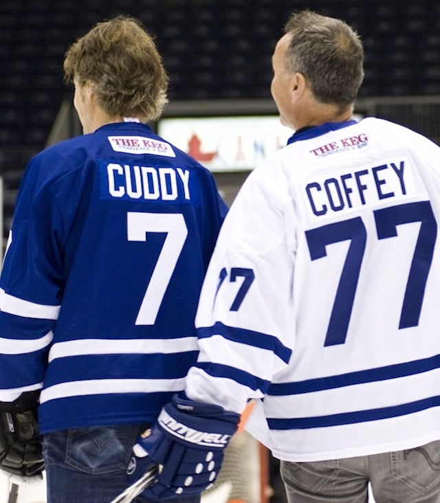 NHL Hall-Of-Famer Gets A Little Handsy