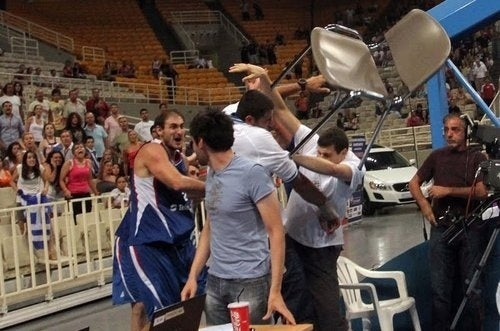 Nenad Krstic Was Arrested For Throwing That Chair