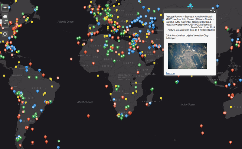 An Interactive Map Lets You See Photos Of Earth Tweeted By Astronauts