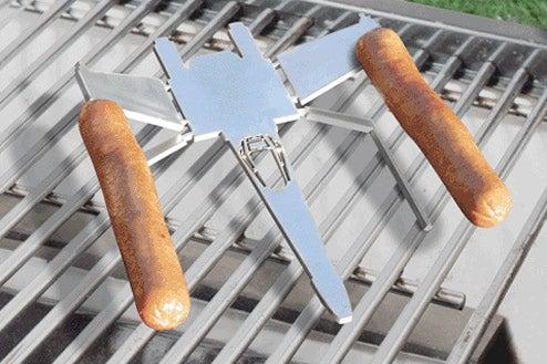 Weenie Wing Commander Fires Meat Torpedoes