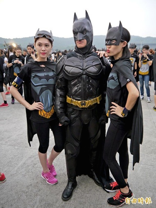 Taiwan Really Likes Batman And Running