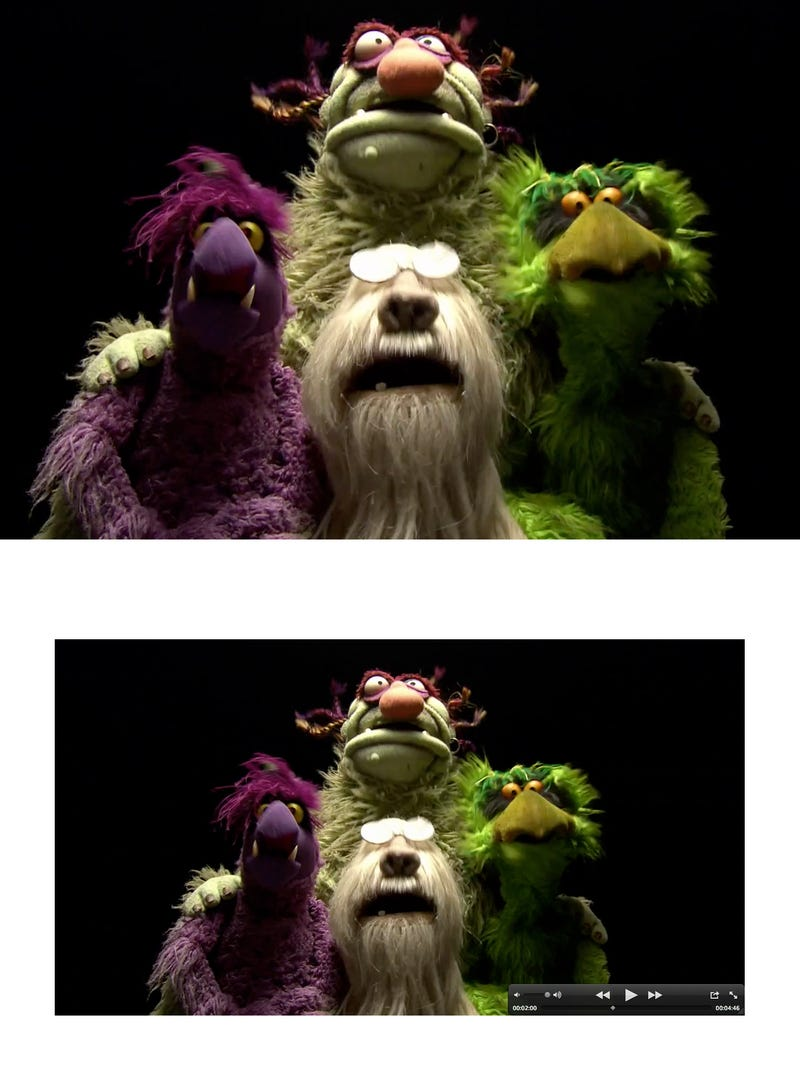 Muppets 1080p vs 720p Gallery