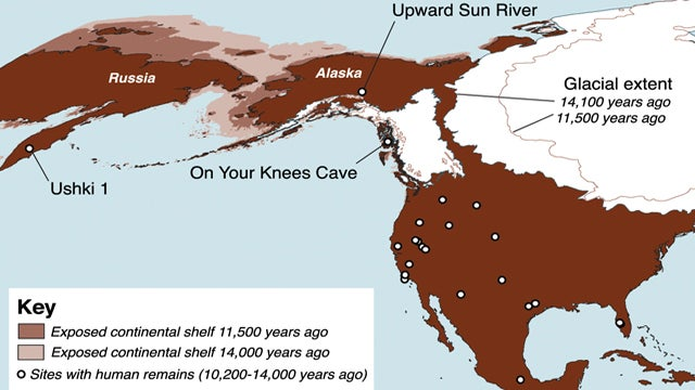 A rare glimpse of an American tragedy that took place 11,500 years ago
