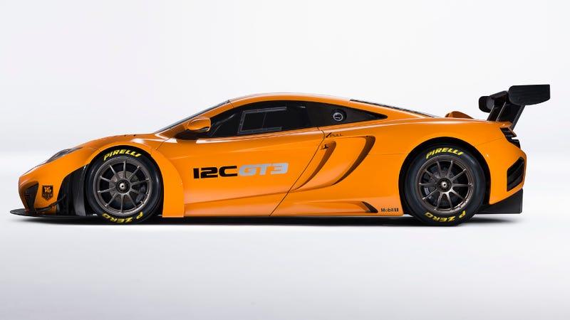 Finally--McLaren's 12C GT3 Set To Race In America