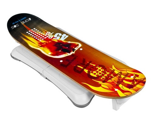 WiSkab Skateboard Won't Make You Look Any Less Stupid On Top of the Wii Balance Board