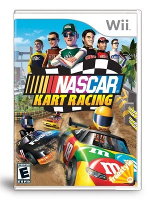 NASCAR Kart Racing Wii Adds Much-Needed Falling Boulders To NASCAR