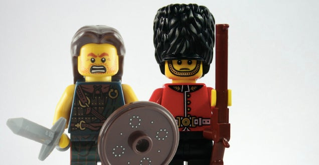 British government uses Lego for Scottish referendum and Lego is pissed