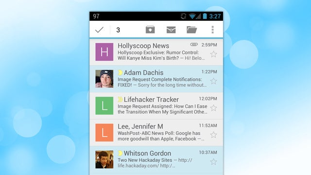 Select Multiple Messages in the New Gmail, Even With Sender Images Off