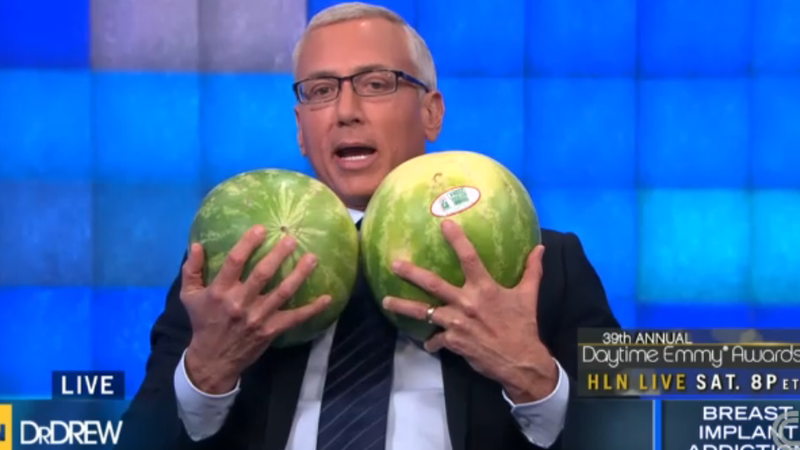 Dr. Drew Addicted to Concern-Trolling Plastic Surgery Addicts