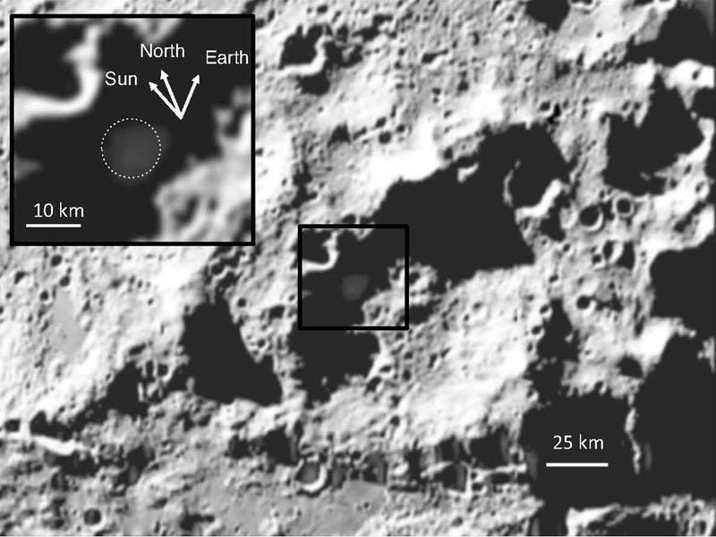 What did we discover after smashing a rocket into the Moon?