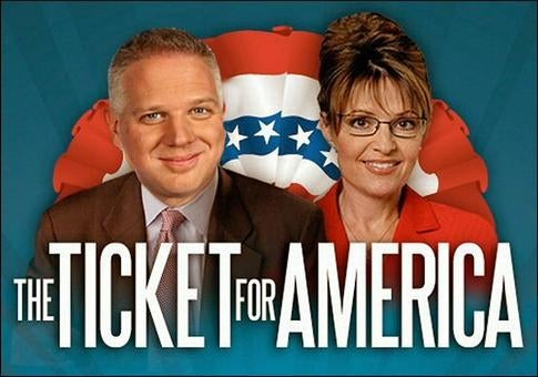 Sarah Palin Praises Glenn Beck With Gibberish